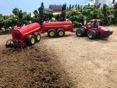 Case IH Steiger 500HD Monster Trucks, Toy Trucks, Tractor Cakes, John Deere Toys, Farm Village, Farm Layout, Livestock Farming, Toy Display, Farm Toys