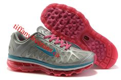 Womens Nike Air Max 2011 Metallic Silver/Laser Pink/White/Bright Turquoise Sneakers