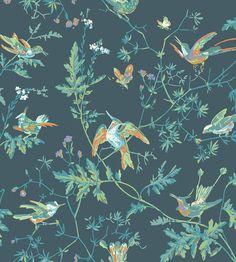 Hummingbirds Wallpaper by Cole & Son   Jane Clayton