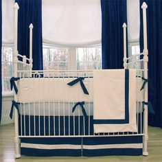 Gregory Baby Bedding : Navy Nighttime at PoshTots