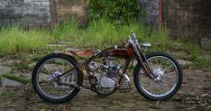 Custom Motorcycles, Custom Bikes, Cars And Motorcycles, Custom Bobber, Moped Motor, Custom Cafe Racer, Wood Carving Art, Bobber Chopper, Cool Bikes