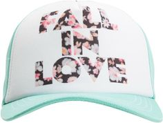 Fall In Love http://www.swell.com/Womens-Hats/ELEMENT-KIT-TRUCKER-HAT?cs=GN Element Kit Trucker Hat #floral