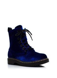 Velvet Combat Boots $27.85 http://www.gojane.com/90450-shoes-velvet-combat-boots.html