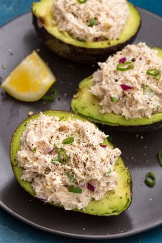 Best Chicken Salad Stuffed Avocados