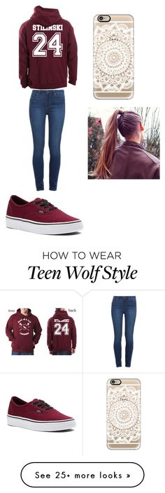 """Untitled #109"" by laurennpayne on Polyvore featuring Paige Denim, Vans and Casetify"