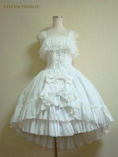 Atelier Pierrot Hexennacht Dress White