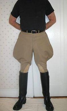 Chaz Heff - Boots and Breeches Mens High Boots, Mens Riding Boots, Riding Pants, Riding Gear, Plus Fours, Uniform Design, Vintage Boots, Jodhpur, Long Pants