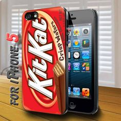 KitKat Crisp Wafers Black Case for iphone 5
