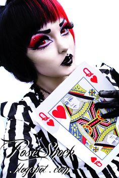 queen of hearts makeup - Google Search