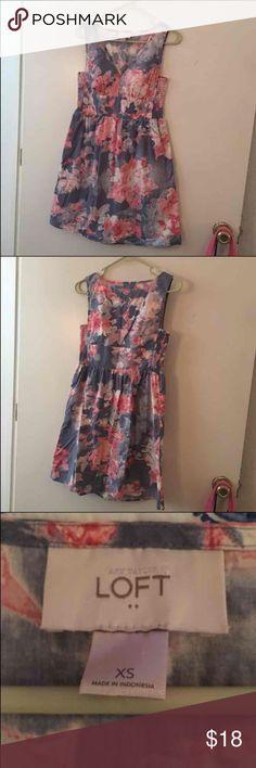 Ann Taylor Loft Dress Great condition  Size XS Made By Ann Taylor Loft Ann Taylor Loft Dresses