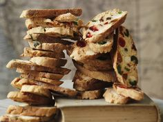 Stained glass biscotti, almond recipe, brought to you by Australian Women's Weekly Edible Christmas Gifts, Xmas Food, Xmas Gifts, Grilled Romaine Lettuce, Mango Curd, White Chocolate Ice Cream, Cherry Tomato Sauce, Bruschetta Toppings, Stained Glass Cookies