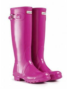 Must have for spring. Gloss Rain Boots | Original Tall Gloss | Hunter Boot US