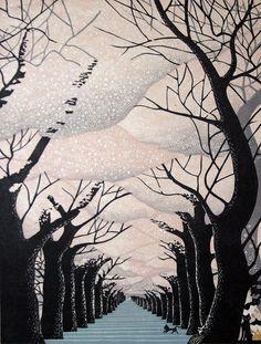 Ray Morimura non è sicuramente tra i più famosi e conosciuti illustratori giapponesi moderni, ma le sue opere sono al centro di studi per la qualità e l'espressività dei suoi paesaggi, …