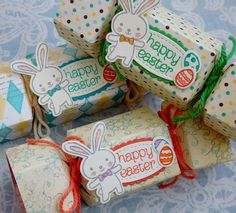 Little Paper Party, Basket Bunch Bundle, Cupcakes and Carousels DSP, Easter cracker2