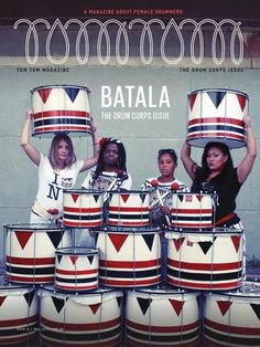 Tom Tom Magazine Issue 11: The Drum Corps Issue  This issue of Tom Tom Magazine features Batala NYC, Shonen Knife, Radical Marching Bands, Crocodiles, Alexey Poblete, Veronica Bellino, Jakarta, Jeepneys, Dawn Richardson Tech and much more.