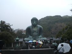 One of many icons of Japan: The Great Buddha at Kamakura...