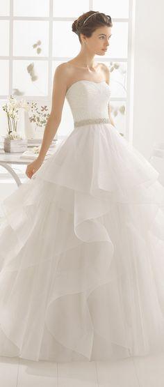 Aire Barcelona 2016 Wedding Dress