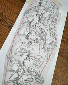 Matt has this tiger and peony sleeve available ! Can be changed up to suit ribs or leg ! Also have a few spots this week and next ! DM or… Lotus Flower Tattoo Design, Small Flower Tattoos, Mandala Tattoo Design, Small Wrist Tattoos, Top Tattoos, Cover Up Tattoos, Sleeve Tattoos, Traditional Thigh Tattoo, Traditional Tattoo Flowers