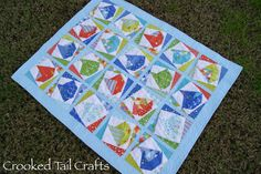 Crooked Tail Crafts: Baby R's Quilt