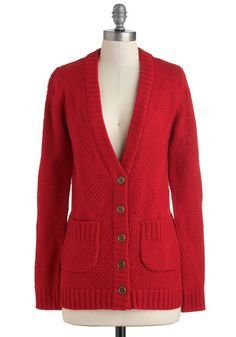 Won't You Be Mine? Cardigan, #ModCloth $79.99 M