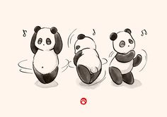 «Panda Food Dance» de Panda And Polar Bear
