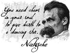 Friedrich Nietzsche White or Natural Quote T Shirt by DiosElGato, $19.95