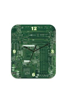 A 'Circuit Art' clock for Techie Home Enthusiasts! :)    http://www.gloob.in/circuit-art-rectangle.html#