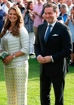 Royal Family Around the World: Swedish Royals Attend Victoria's Day at Borgholm on July 14, 2015 in Oland, Sweden.