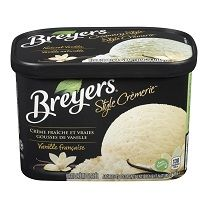 Pour chaque 3 $ dépensé en crème glacée ou desserts glacés Breyers