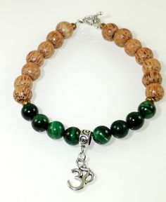 Tigers Eye Wooden Natural gemstone Beaded by LittlePebbleLove