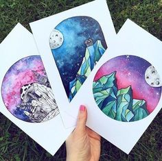 Новости милые радости en 2019 dibujos con acuarelas, dibujar arte y dibujos Galaxy Painting, Galaxy Art, Watercolor Inspiration, Pretty Art, Cute Drawings, Marker Drawings, Love Art, Art Inspo, Painting & Drawing