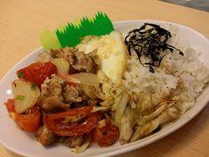 蔬菜雞套餐