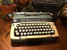 1968 Smith Corona Classic 12 Portable Typewriter