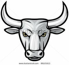 stock-vector-bull-head-white-bull-88221613.jpg (450×424)