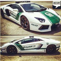 Lamborghini Aventador! Police Edition #Dubai