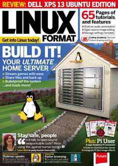#Linux Format 213. Build it! Your ultimate home server.