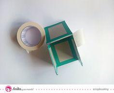 Tutorial lapicero hecho con papel scrapbook - paso 5