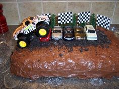 Monster Truck Cake by essie