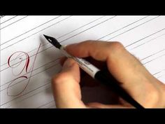 Каллиграфия. Мелодия слов... Юлия - YouTube