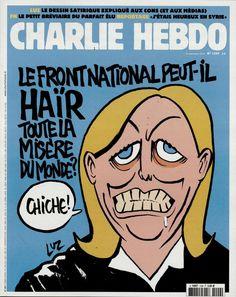 Charlie Hebdo - # 1209 - 23 Septembre 2015 - Couverture : Luz