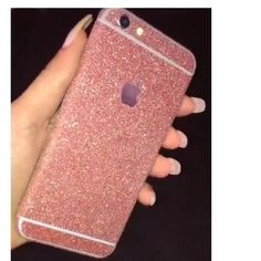 Just Reduced Iphone 6 Rose Gold Glitter Cover