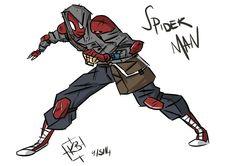 Spiderman redesign