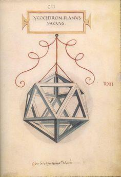 De Divina Proportione is a book by Luca Pacioli illustrated by Leonardo da Vinci
