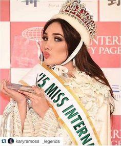 MISS VENEZUELA EDYMAR MARTINEZ ES MISS  INTERNACIONAL 2015!! Otra corona para el país con la mujeres más bella.