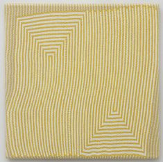 Samantha Bittman: Self Similar, acrylic on handwoven textile 2011