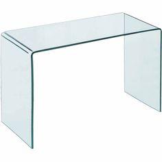 Τραπέζι GLASSER CLEAR γυάλινο EM736