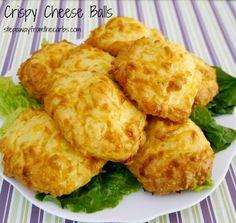 Crispy Cheese Balls - low carb recipe