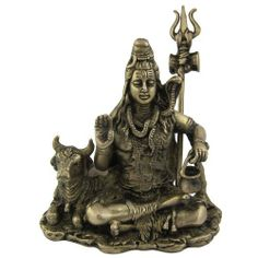 Amazon.com: Siva Hindu God Statues and Sculptures Made in Brass 5.5 X 3.5 X 5.75 Inches: Home & Kitchen