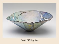 Judy Stone  Enamelist  burnt-offering-kos