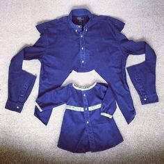 Cómo convertir camisas viejas envestidos deniña encantadores